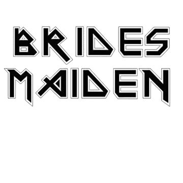Bride's Maiden funny wedding gift  by movesouth