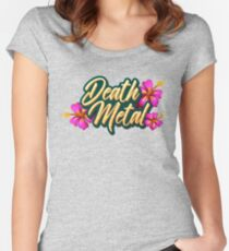 Death Metal Hawaii Women's Fitted Scoop T-Shirt