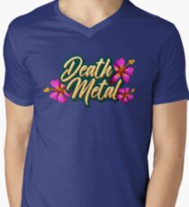 Death Metal Hawaii Men's V-Neck T-Shirt