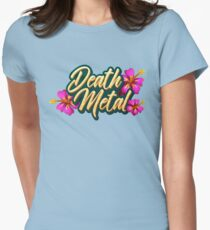 Death Metal Hawaii Womens Fitted T-Shirt