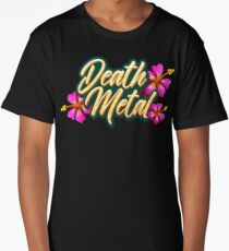 Death Metal Hawaii Long T-Shirt