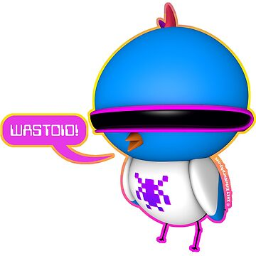 B.B. Buttons - Wastoid! by sadmachine