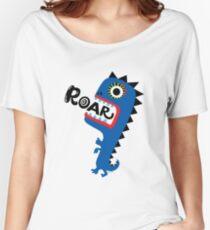 Roar Monster Women's Relaxed Fit T-Shirt