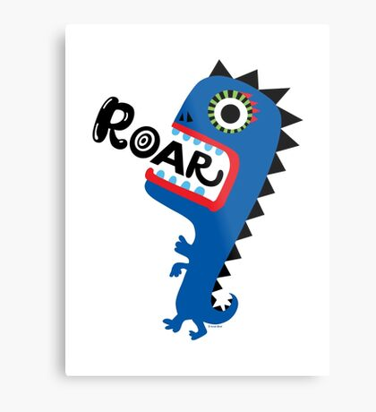 Roar Monster Metal Print