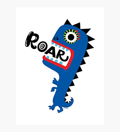Roar Monster Photographic Print