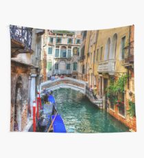 Venice Canal Wall Tapestry