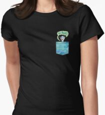 TINY RICK Womens Fitted T-Shirt