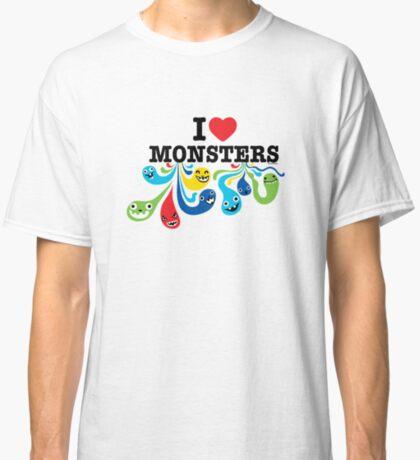 I Heart Monsters Classic T-Shirt