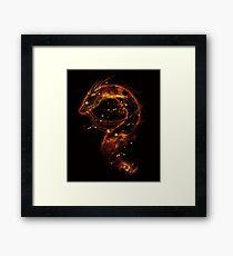 haku nebula Framed Print