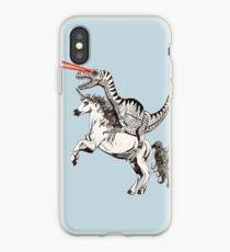 Raptor & Einhorn iPhone-Hülle & Cover