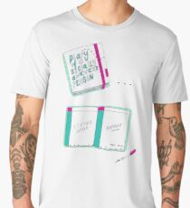 Diary Of A Socially Awkward Person Men's Premium T-Shirt