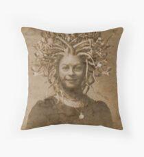 Lady Geraldine Harper Throw Pillow
