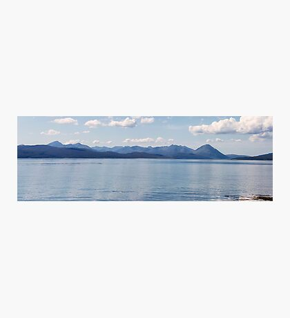Cuillin Ridge on Skye From Applecross Photographic Print