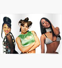Selena, Left-Eye, Aaliyah - Rest In Peace Poster