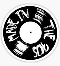 Made in the 90s vinyl Sticker