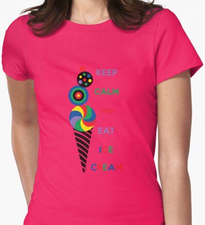 Keep Calm and Eat Ice Cream T-Shirt