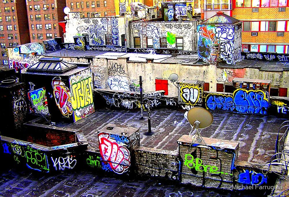 NYC Graffiti by Michael Farruggia