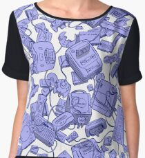 Retro Gamer Chiffon Top