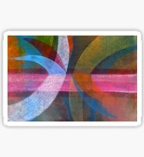 Abstract Sticker