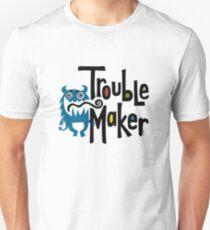 Trouble Maker born bad - earth T-Shirt