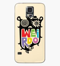 Big Weirdo - beige Case/Skin for Samsung Galaxy