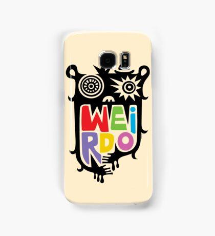 Big Weirdo - beige Samsung Galaxy Case/Skin