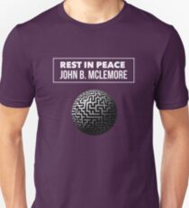 Rest In Peace- John B Mclemore (Great White Labyrinth) T-Shirt