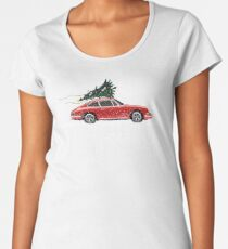 Christmas 911 Women's Premium T-Shirt