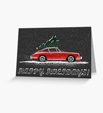 Christmas 911 Greeting Card