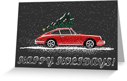 Christmas 911 by AutomotiveArt