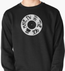 Made in the 90s vinyl white Pullover