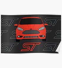 Fiesta ST Poster