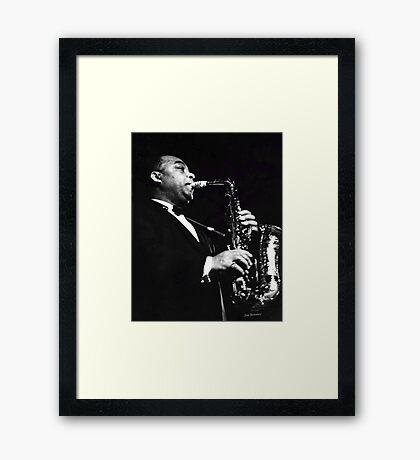 Big Band Sax Framed Print