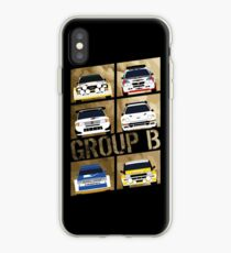 Gruppe B iPhone-Hülle & Cover