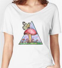 Butterfly Mushroom Women's Relaxed Fit T-Shirt