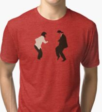 Mia and Vincent  - Pulp Fiction - top selling Tri-blend T-Shirt