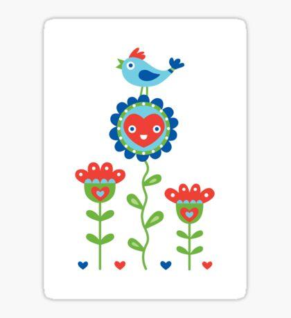 Happy - sweet print - multi Sticker