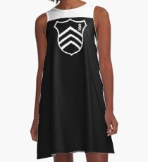 Uniform A-Line Dress