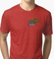Fish MEME Tri-blend T-Shirt