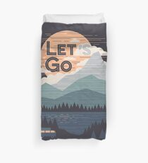 Let's Go Duvet Cover