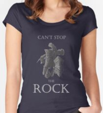 Havel The Rock Women's Fitted Scoop T-Shirt