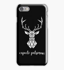 Expecto Patronum - White iPhone Case/Skin