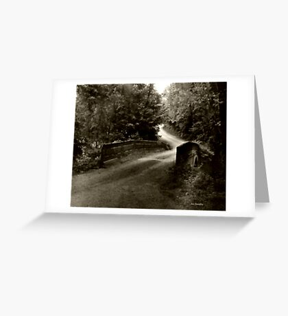 Swann Mill Road Greeting Card