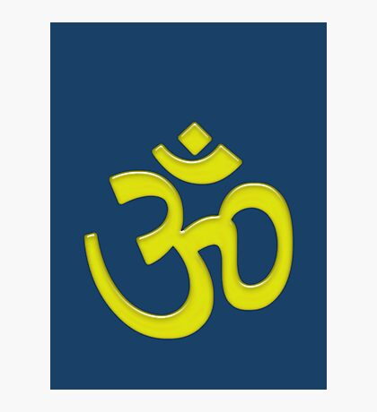 OM or AUM Photographic Print