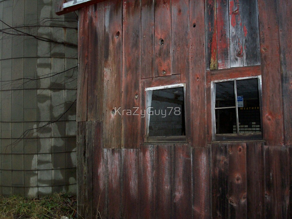 Old barn windows by KraZyGuy78
