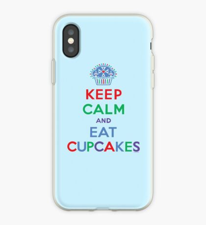 Keep Calm and Eat Cupcakes - primary 2 iPhone Case