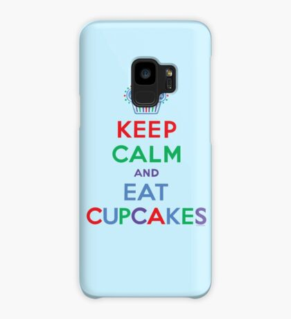 Keep Calm and Eat Cupcakes - primary 2 Case/Skin for Samsung Galaxy