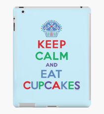 Keep Calm and Eat Cupcakes - primary 2 iPad Case/Skin