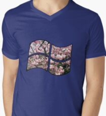 Looking through the window Men's V-Neck T-Shirt