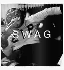 Swag Monkey Poster